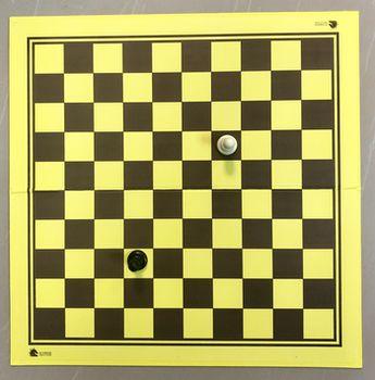 Доска для шахмат/шашек картонная 50x50 см CHTX55PHM (5242)