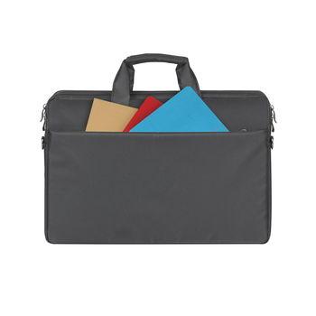 "17.3"" Сумка для ноутбука RivaCase 8257, Canvas Black"