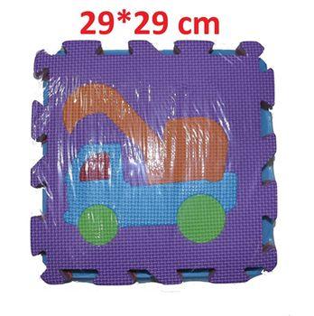 Коврик-паззл для детей (10 шт.)  29x29 см D1612-1250 (5658)