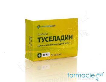 купить Tuseladin caps. 40mg N10x2 (Eurofarmaco) в Кишинёве