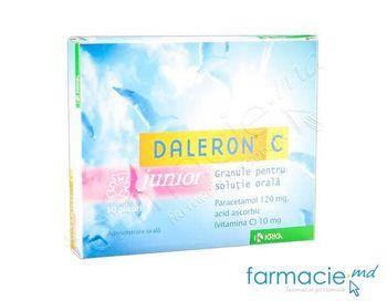 cumpără Daleron C Junior granule 5g N10 în Chișinău