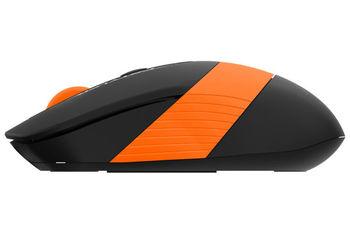 Wireless Mouse A4Tech FG10, Black/Orange