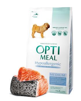 купить Optimeal гипоаллергенный  для крупных пород - лосось ,20кг в Кишинёве