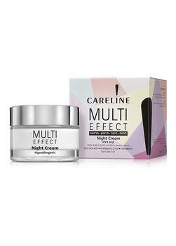 Crema de noapte Careline Multi Effect, 50 ml