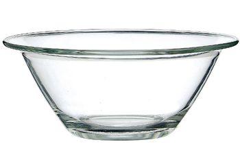 Салатница стеклянная MrChef 365ml, D14cm