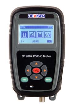 купить Deviser C1200+ DVB-C Meter в Кишинёве