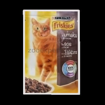 cumpără FRISKIES Adult (ficat în sos) 100gr în Chișinău