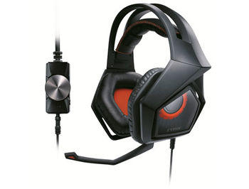 ASUS Gaming Headset STRIX PRO, Headphone: 20 ~ 20000 Hz, Sensitivity headphone:98 dB, Microphone: -40 dB, Cable 2.7m (casti cu microfon/наушники с микрофоном)