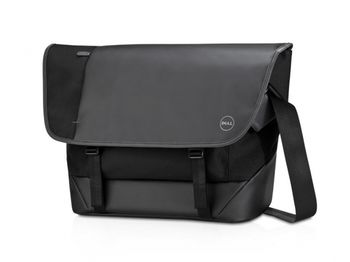 """Dell NB bag 15.6"""" - Premier Messenger (M) - messenger's multiple storage pockets keep documents and accessories organized, while its dedicated notebook and tablet sleeves keep your electronic devices safe and protected, Black"""