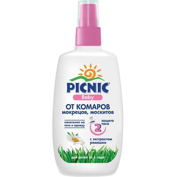 cumpără Picnic Baby Spray repelent de la 1an 120ml în Chișinău