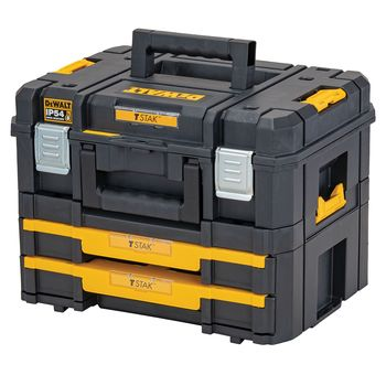 купить Комплект из 2-х ящиков для инструмента DeWALT TSTAK 2.0 DWST83395-1 в Кишинёве