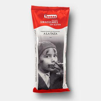 Горячий какао без глютена без сахара Torras 180г