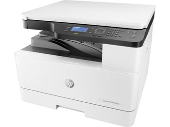 HP LaserJet MFP M436dn A3 Print/Copy/Scan up to 23ppm, Duplex, 128MB, 600dpi, 4-Line LCD display, up to 50000 p/m, USB 2.0, 10/100 Base TX , HP PCL 6, White - Toner CF256A (7,400 pag), CF256X (13,700 pages)  , Imaging Drum CF257A  (80,000 pag)