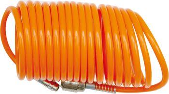 купить Спиральный пневматический шланг с быстроразъемным соединением 5*8мм  15м в Кишинёве