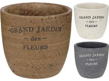 """Горшок для цветов """"Grand Jardi"""" D12cm, H12cm, керамика"""