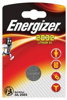 Energizer CR2032, Lithium, FSB1, 3V