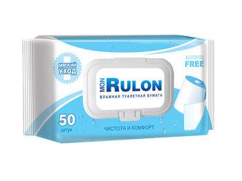 купить Влажная туалетная бумага Rulon 50 шт в Кишинёве