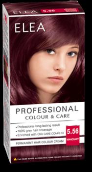 Vopsea p/u păr, SOLVEX Elea, 138 ml., 5.56 - Mahon