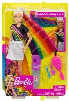 """Papusa Barbie """"Curcubeu si spumant"""", cod FXN96"""