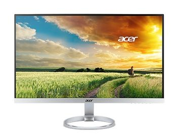 "27.0"" ACER IPS LED H277HSMIDX Borderless Silver (4ms, 100M:1, 300cd, 1920x1080, DVI,HDMI) [UM.HH7EE.001]"