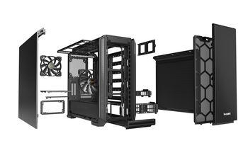 Case ATX be quiet! Silent Base 601, w/o PSU, 2x140mm, 1xUSB 2.0, 2xUSB 3.2, Fan controller, Black