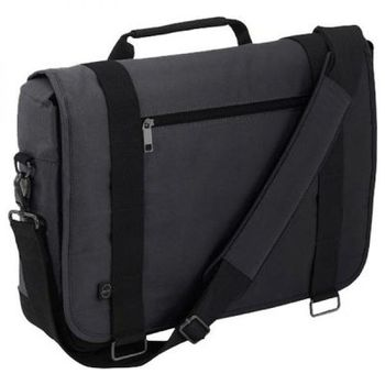 "DELL NB Bag-Half Day Messenger, 15.6"" : 41,9x37x9cm, Gray"