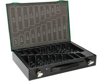 купить Набор сверл по металлу HSS-R 170 шт., DIN 338 в Кишинёве