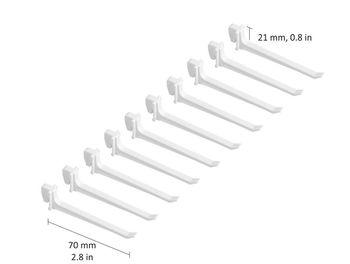 cumpără Cârlig 70 mm, 10 buc, alb în Chișinău