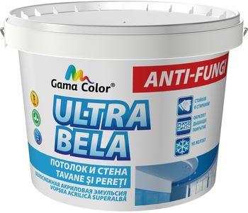купить Краска акриловая GAMA COLOR супер белая (12,6 Kг) в Кишинёве