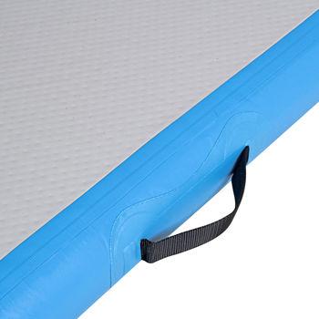 Мат гимнастический надувной 400x100x10 см inSPORTline Airstunt 21994