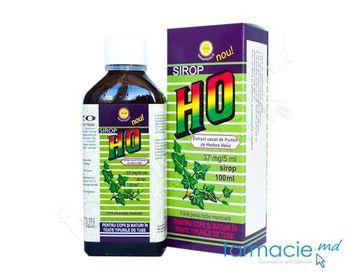 купить Sirop HO sirop 37 mg/5 ml  100 ml N1 ( Hedera Helix) в Кишинёве
