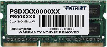 купить 8GB DDR3-1600 SODIMM  Patriot Signature Line, PC12800, CL11 в Кишинёве
