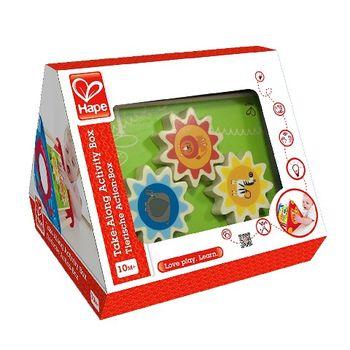 купить Hape Деревянная игрушка Развивающий треугольник-головоломка в Кишинёве