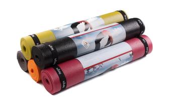 Коврик для йоги 183x60x0.45 см Rishikesh Premium 60 PVC BODHI (1346)