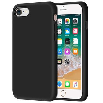 купить Чехол Senno Neo Full TPU Iphone 7/8 ,Black в Кишинёве