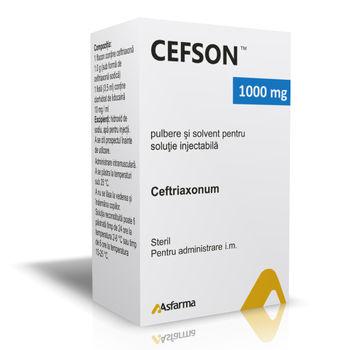 cumpără Cefson 1000mg N1+3,5ml pulb.solv./sol.inj. în Chișinău