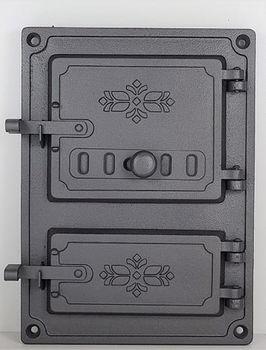 Дверца чугунная глухая правая DPK4R1