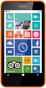 Nokia Lumia 630 2 SIM (DUAL) Orange