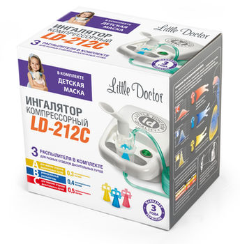 купить Ингалятор Little Doctor LD-212C в Кишинёве