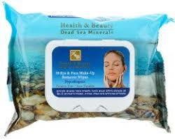 купить Health & Beauty Салфетки для удаления макияжа с кожи лица и области глаз (44.132) в Кишинёве