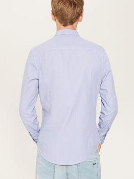 Рубашка HOUSE Голубой в клетку tv867-55x