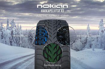 купить Nokian Hakkapeliitta R3 215/55 R16 97R в Кишинёве