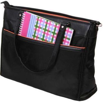"""E.Box ENL0514M Lady Laptop Bag, 14"""", Size: 37*3.5*26 cm, (Black)"""