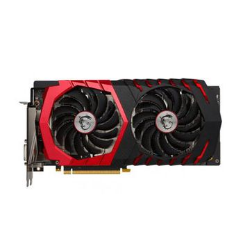 MSI GeForce GTX 1060 GAMING X 3G /  3GB DDR5 192Bit 1809/8108Mhz (OC Mode), DVI, HDMI, 3x DisplayPort, Dual fan - TWIN FROZR VI (Zero Frozr/Airflow Control Technology), TORX 2.0 FAN, Gaming App, Retail