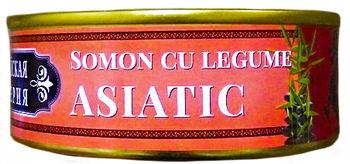 cumpără Somon Asiatic (cu legume și mirodenii) 240gr în Chișinău