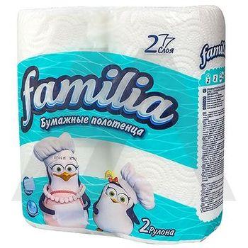 купить Familia бумажные полотенца, 2 слоя, 2 рулона в Кишинёве