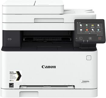 MFD Canon i-Sensys MF633CDW, Color Printer/Copier/Scanner,ADF(50-sheet),Duplex,Net,WiFi,USB-Host, A4,18ppm,1GB,1200x1200dpi, 52-163g/m2,Scan 9600x9600dpi,150+1-sheet tray,UFRII,PCL5c*,PCL6,Max.30k pages per month, Cart 045HBk/045Bk+045HC/M/Y/045C/M/Y