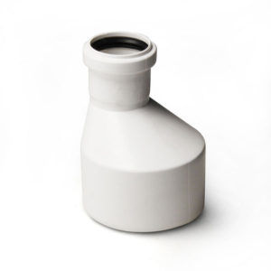купить Переход ПВХ  dn110 / 50 эксцентр белый Egeplast M в Кишинёве