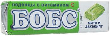 💚 🌿 Бобс леденцы Мята-эвкалипт 35 гр.