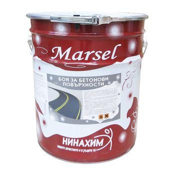 Нинахим Краска Marsel для асфальта и бетона Белая 25кг